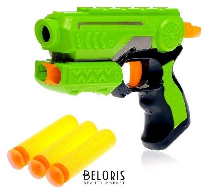 Пистолет Меткий стрелок стреляет мягкими пулями КНР