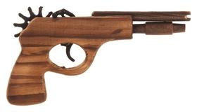 Пистолет игрушечный стреляет резиночками