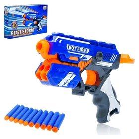 Бластер Аск стреляет мягкими пулями