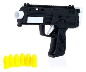Автомат Микро-Узи стреляет силиконовыми пульками