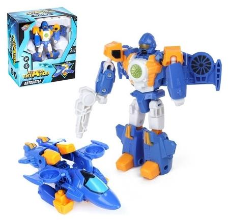 Робот-трансформер Авиабот   Woow toys