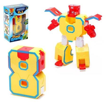 Робот-трансформер Робоцифры - 8   Woow toys