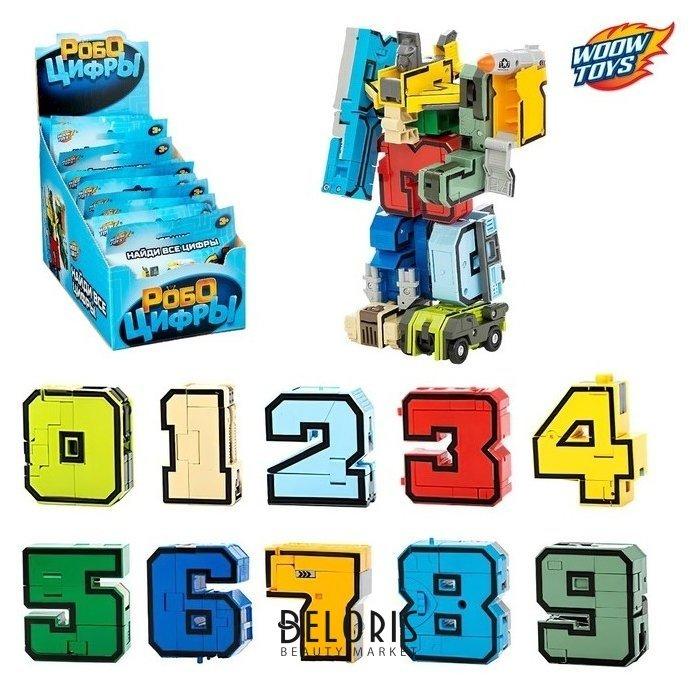 Робот-трансформер Робоцифры  Woow toys