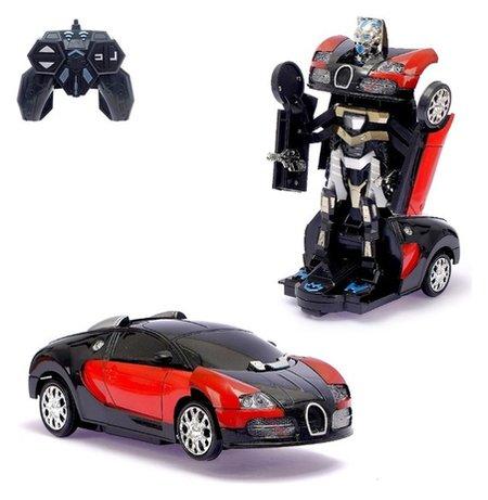 Робот-трансформер радиоуправляемый Гонщик световые и звуковые эффекты   КНР Игрушки