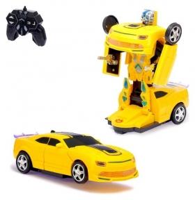 Робот-трансформер радиоуправляемый Автобот световые и звуковые эффекты