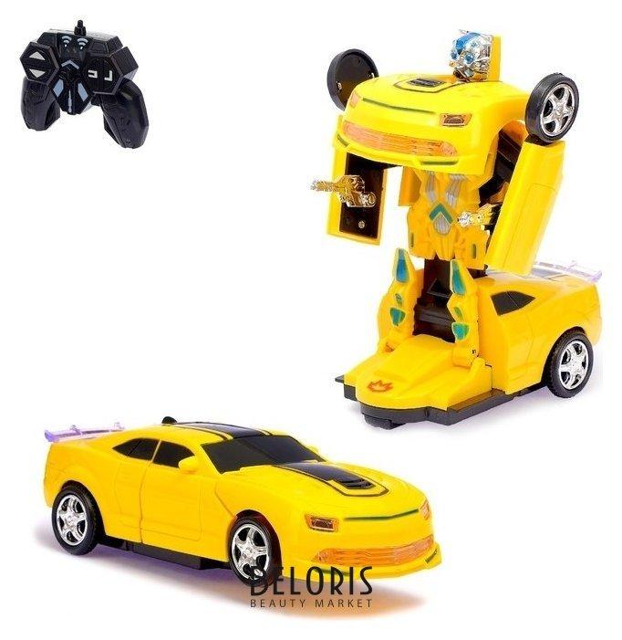 Робот-трансформер радиоуправляемый Автобот световые и звуковые эффекты КНР Игрушки