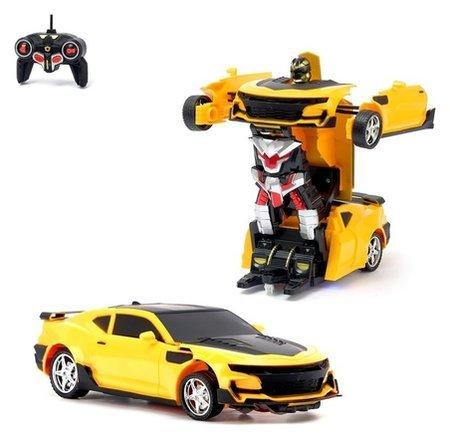 Трансформер радиоуправляемый Автобот со световыми эффектами  КНР Игрушки