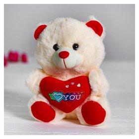 Мягкая игрушка Мишка с сердцем  КНР