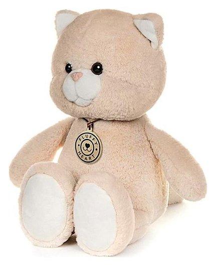 Мягкая игрушка Котенок 25 см  Fluffy heart