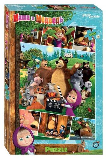 "Мозаика ""Маша и медведь - 2""  Step puzzle"