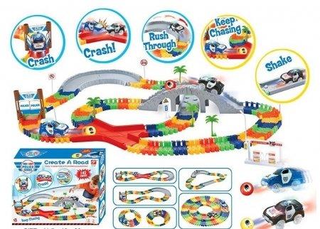Трек гибкий Police  Junfa toys