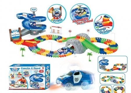 Трек гибкий  Junfa toys