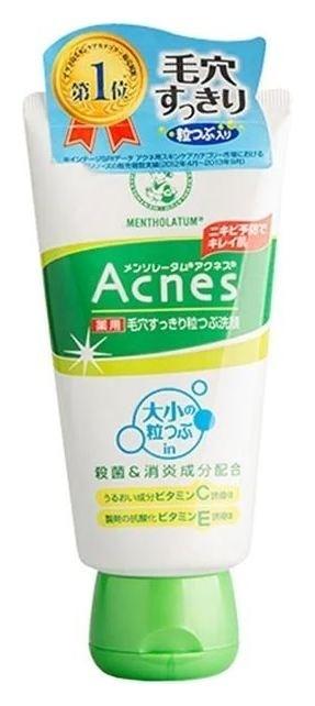 Крем-скраб для лица против акне Acnes Scrub  Mentholatum