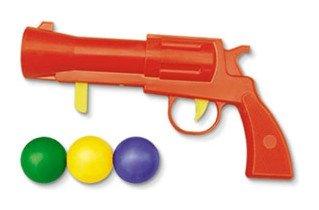 Пистолетик пластмассовый с шариками  Stellar