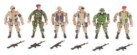 Солдатик Спецназ набор 6 шт