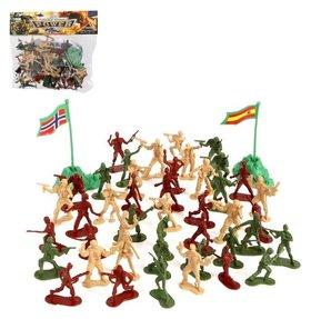 Набор солдатиков Мировое сражение с аксессуарами