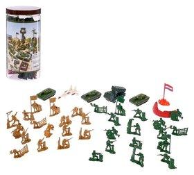 Набор солдатиков Войско 37 предметов