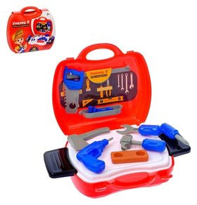 Игровой набор в чемоданчике Умелец Я 18 предметов