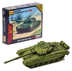 Сборная модель Советский основной боевой танк Т-72Б  Звезда