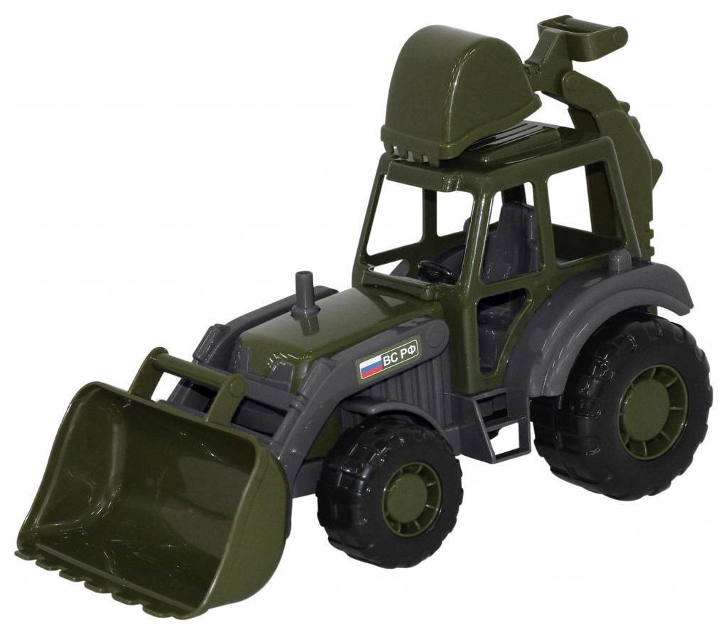 Трактор-экскаватор военный «Мастер»  Полесье