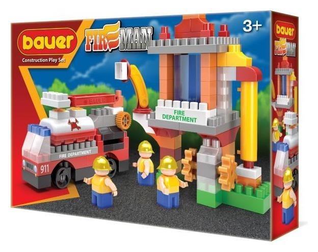 Игрушка-конструктор пожарная вышка Fireman  Bauer