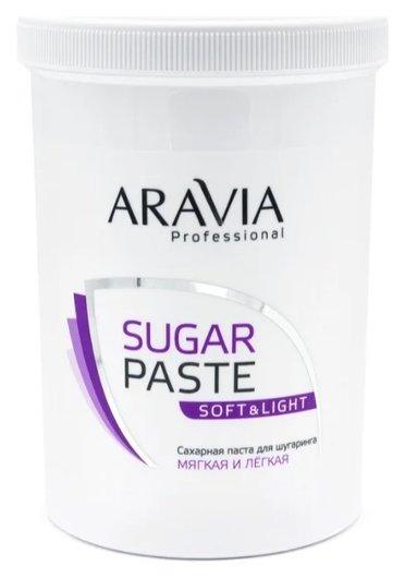 Сахарная паста для шугаринга мягкой консистенции Мягкая и легкая  Aravia Professional