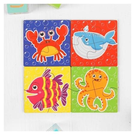 Пазл для малышей Морские жители  Woodlandtoys