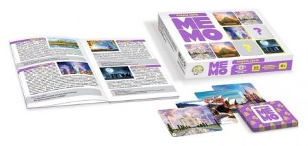 Настольная игра Мемо Чудеса света  Десятое королевство