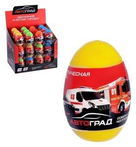 Машина металлическая в яйце «Спецслужбы»