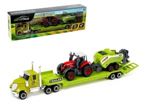 Грузовик металлический «Ферма» с трактором