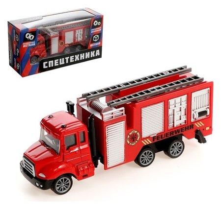 Машина металлическая «Пожарная служба» Автоград