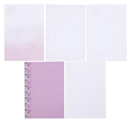 Набор листов для планирования Пастель 14.5 × 21 см  Арт узор
