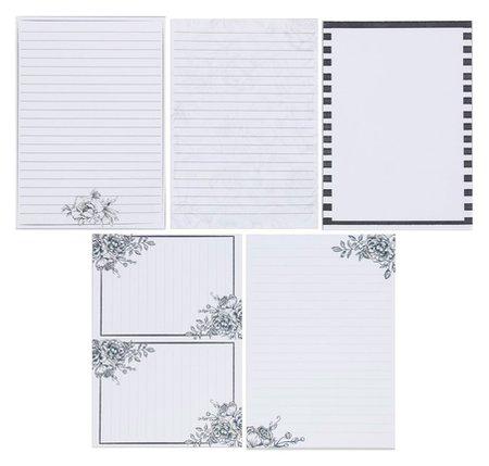 Набор листов для планирования Лаконичность 14.5 × 21 см