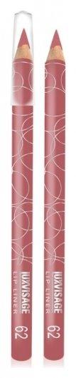 Тон 62 Розово-сливовый  Luxvisage