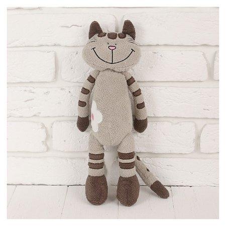 Мягкая игрушка Кот Полосатик, 33 см  Maxitoys