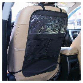 Органайзер на спинку сидения автомобиля c карманами Чёрный Оксфорд
