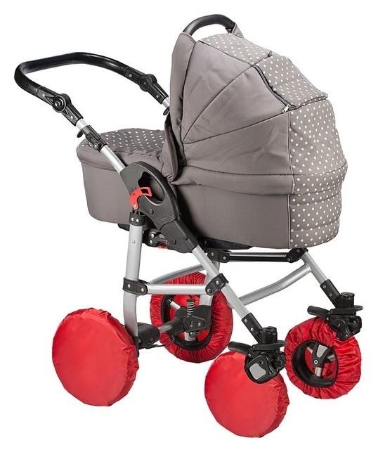 Чехлы на колёса для коляски с поворотными колёсами  Roxy kids