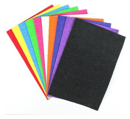 Набор Пенка травка формат А4, 10 листов, 10 цветов, толщина 2 мм  Calligrata
