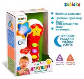 Музыкальная игрушка Микрофон, световые и звуковые эффекты
