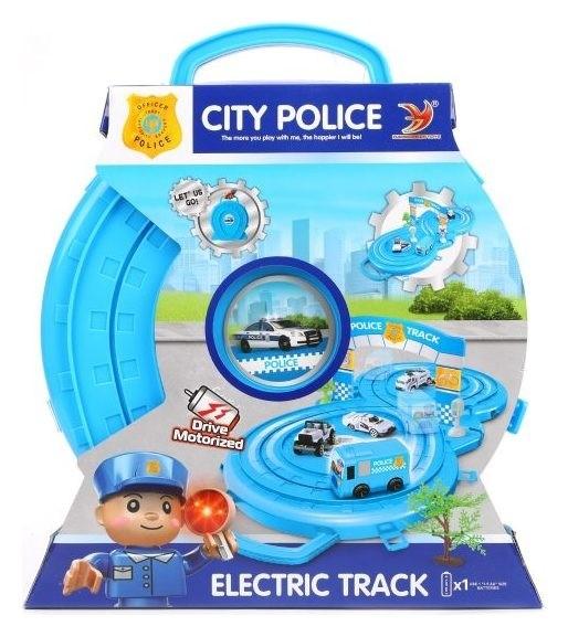 Автотрек электронный Полиция  Наша игрушка