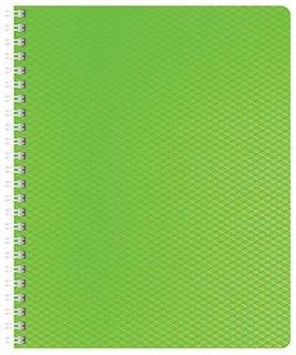 Тетрадьв клетку Diamond Neon, цвет зелёный, 80 листов  Hatber