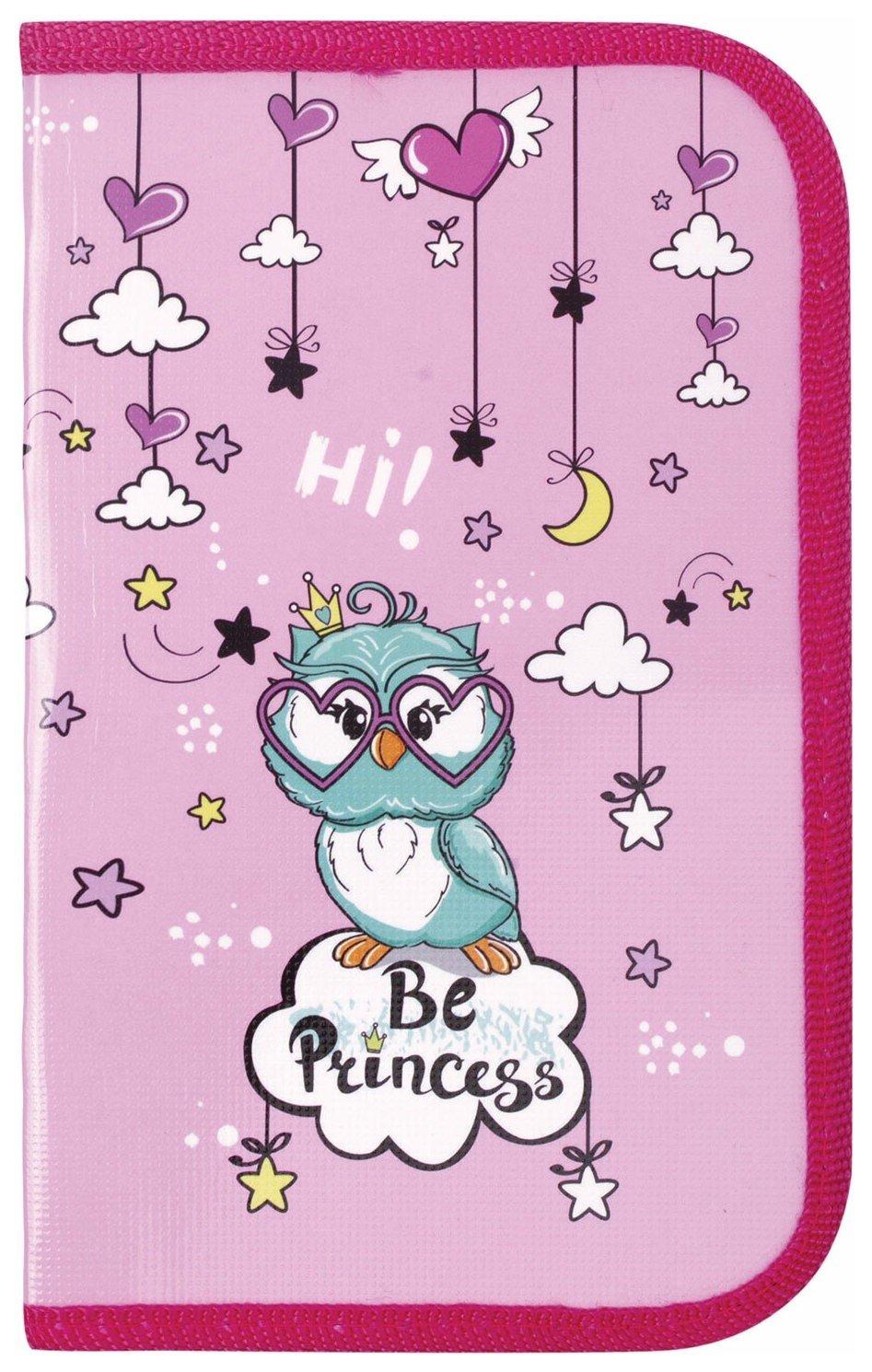 Пенал 1 отделение, Owl Princess  Пифагор
