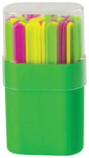 Счетные палочки 30 штук, ассорти, в пластиковом пенале  Пифагор