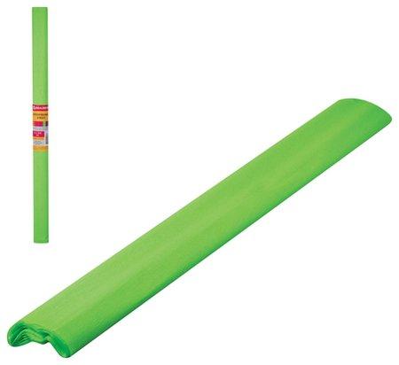 Бумага гофрированная флуоресцентная зеленая Brauberg