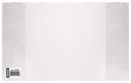 Обложка ПВХ для тетради и дневника прозрачная, плотная, 120 мкм, 213х355 мм  Пифагор
