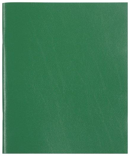 Тетрадь в клетку 48 листов А5 Зеленый  Staff