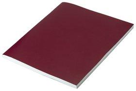 Тетрадь в клетку, 96 листов, А4, цвет бордовый, белизна 92% Staff