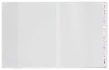 Обложки ПП для учебников старших классов комплект 5 шт., универсальные 70 мкм, 230х380 мм  Пифагор