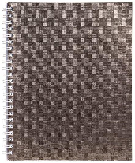 Тетрадь в клетку 96 листов А5 Metallic  Hatber