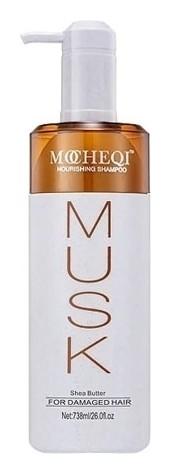 Шампунь для сухих, окрашенных и поврежденных волос с маслом Ши и гидролизованным кератином Nourishing Shampoo 738 мл